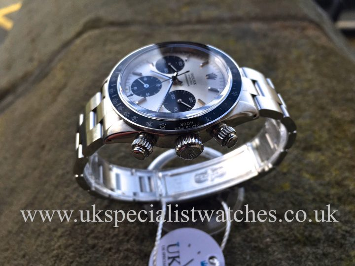 UK Specialist Watches have a very rare vintage Rolex Daytona Cosmograph 6263 - First Series from 1972