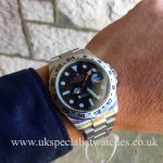 Latest Model Rolex Explorer II with a Black Dial 42mm case – 216570 in stock at UK Specialist Watches