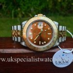 UK Specialist Watches have a vintage 1991 Rolex GMT Master II Root beer 16713UK Specialist Watches have a vintage 1991 Rolex GMT Master II Root beer 16713
