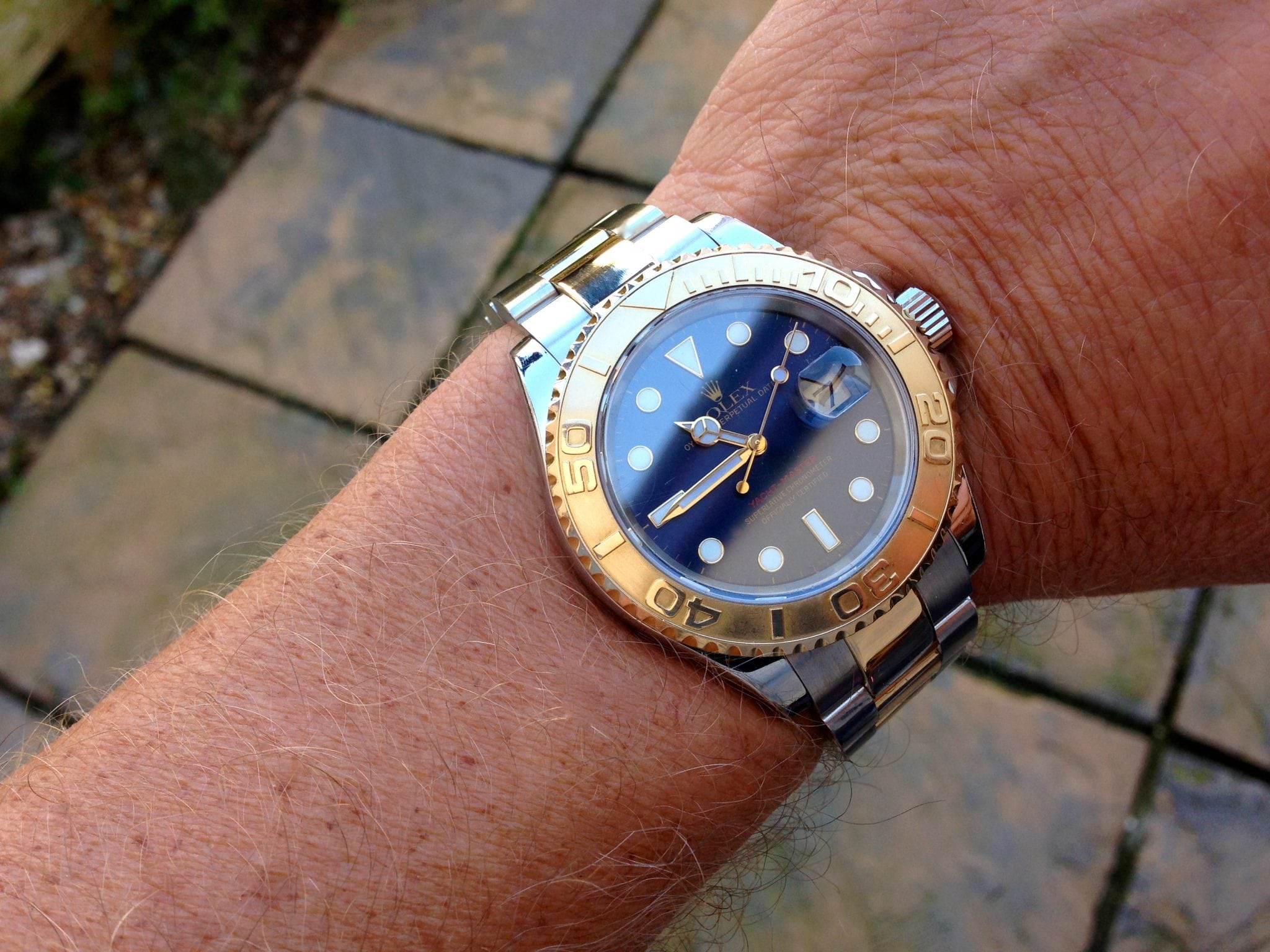 "Rolex Yacht-master gold & steel ""gents"" ref 16623 - UK ..."