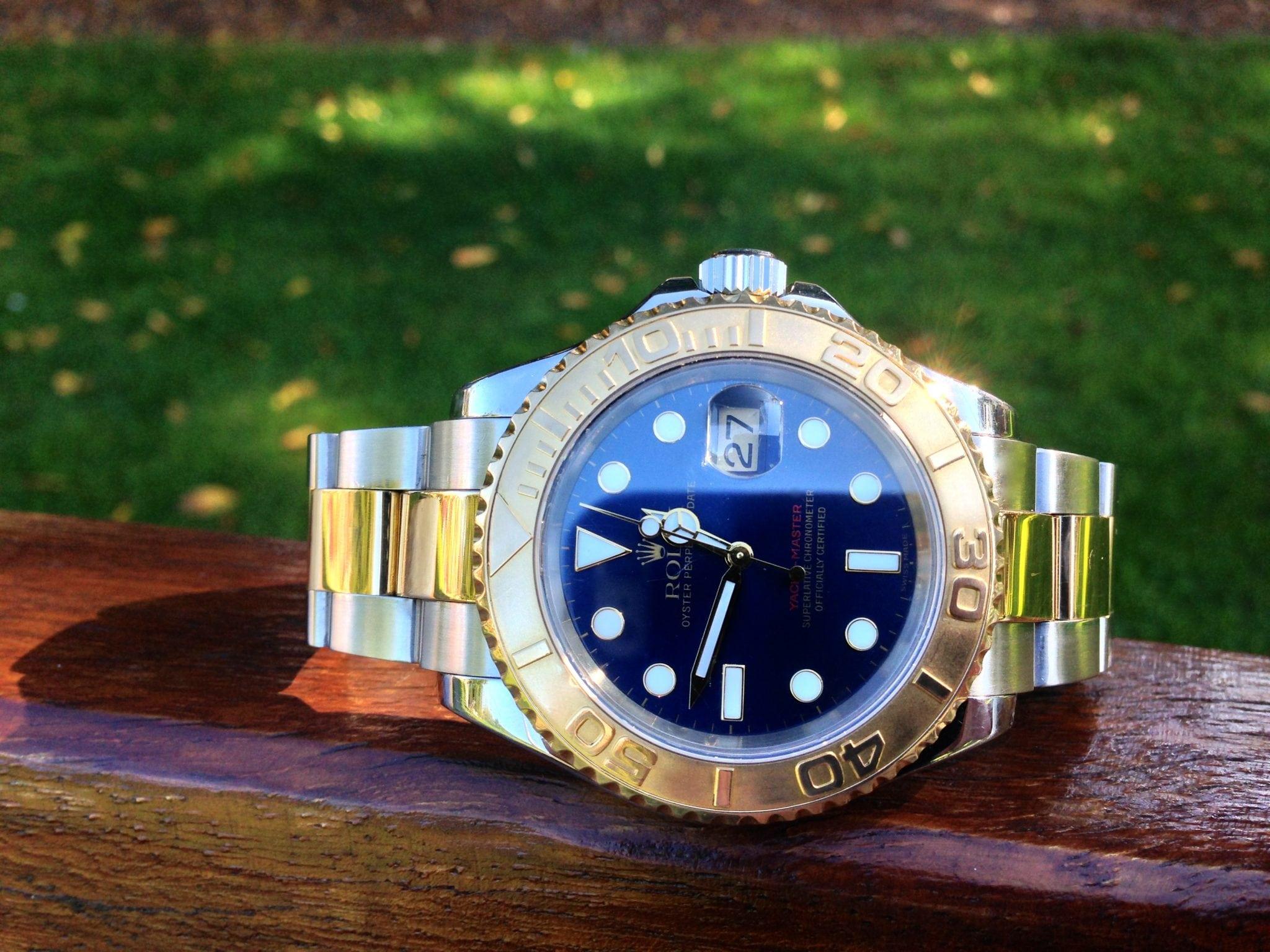 Rolex Yacht-master gold & steel