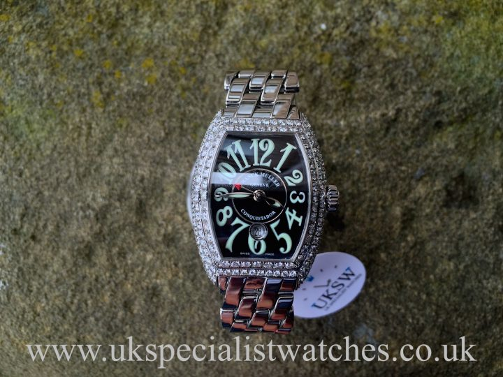 UK Specialist Watches have a beautiful ladies diamond set Franck Muller 8005L SC