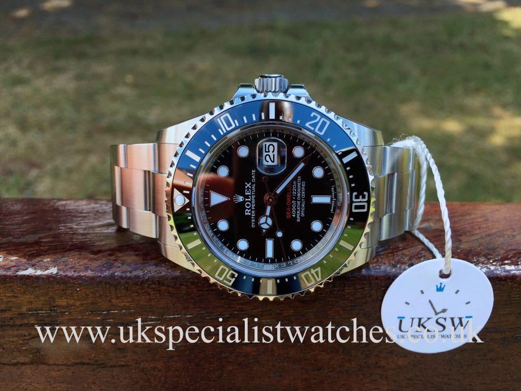 Rolex Sea-Dweller – Red Writing – 126600 – 2017 UNUSED