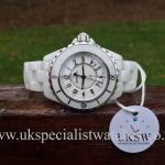UK Specialist Watches have a full set White ceramic Chanel J12 33mm - H0968