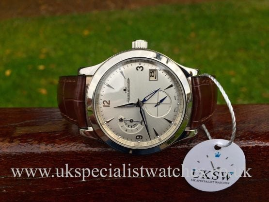 Jaeger-Lecoultre Master Hometime GMT - Stainless Steel - 147.8.05.S