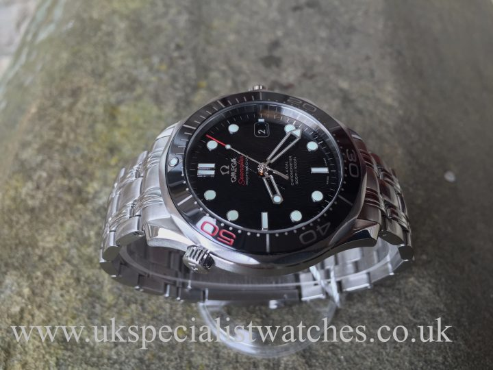 UK Specialist Watches have a limited edition Omega Seamster 50th anniversary James Bond 007 21230412001005