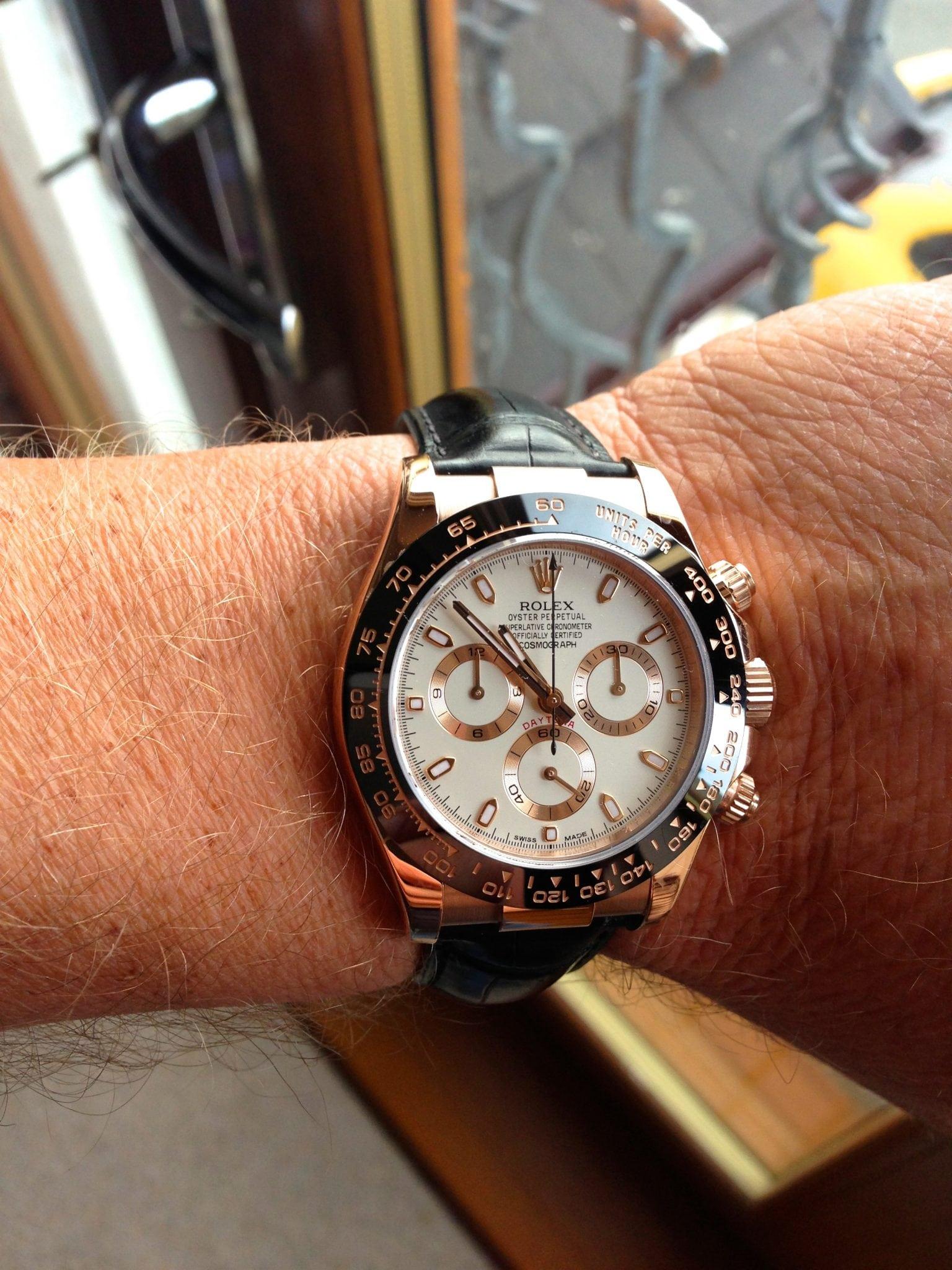 Rolex Daytona Rose Gold Ceramic Ref 116515ln Uk Specialist Watches