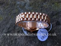 UK Specialist Watches have a Rolex Lady Datejust in 18ct rose gold with a factory pink diamond dial 179175