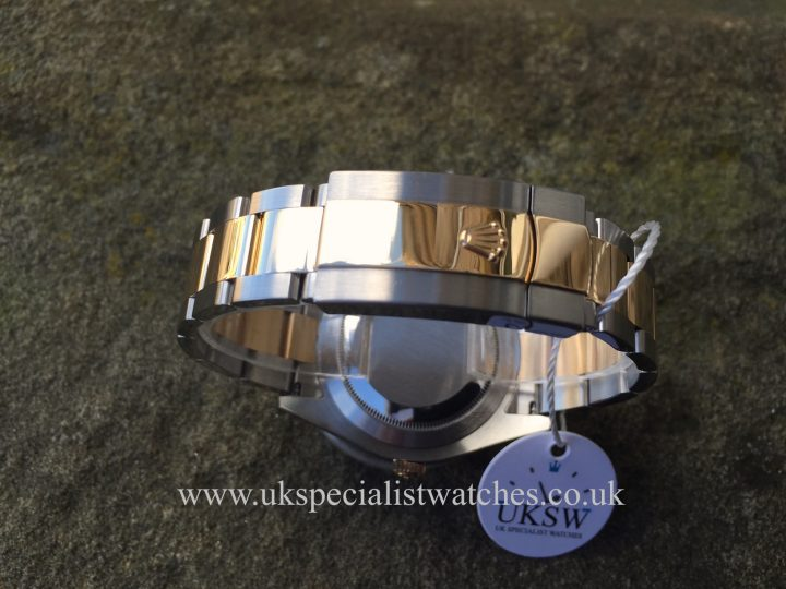 UK Specialist Watches have a Bi Metal Rolex Datejust II with the rare Matte Grey Dial - 116333