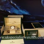 UK Specialist Watches have a 36mm Gents Rolex Datejust steel & 18ct yellow gold - 116233