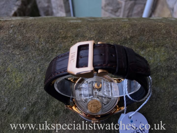 UK Specialist Watches Have a IWC Portuguese 7 Days - 18ct Rose Gold - IW500113