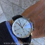 UK Specialist Watches have a IWC Portuguese Chronograph - Stainless Steel - IW371445