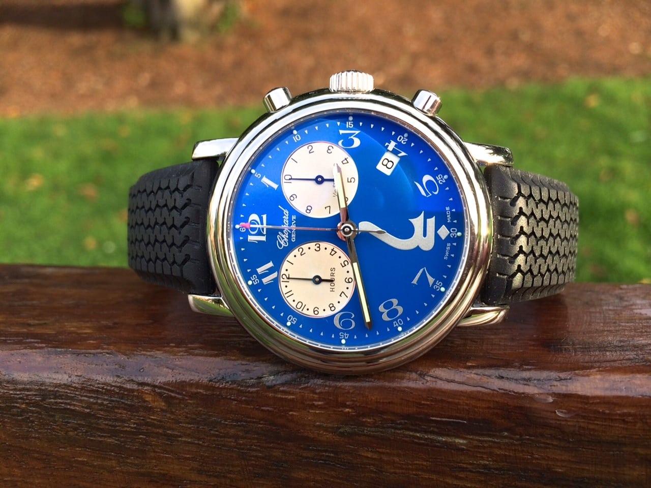 Chopard Godolphin chrono 1/10th second timer-limited edition