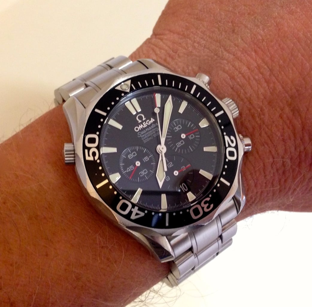 Omega seamaster 300m chrono diver ref 25945200 uk specialist watches for Omega diver