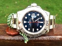 Rolex Yachtmaster Blue dial Platinum bezel - 116622 new model
