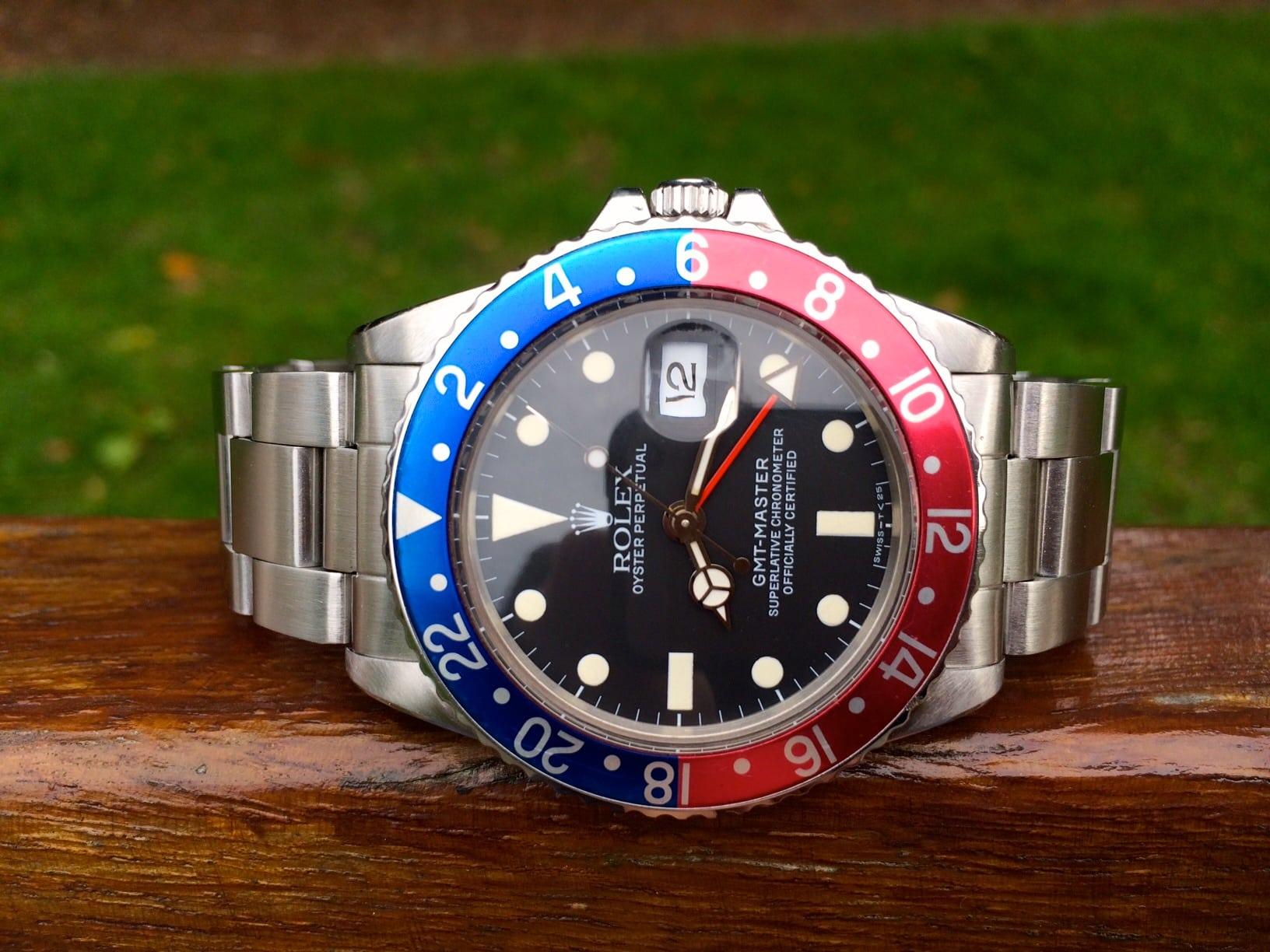Rolex GMT-Master Vintage Pepsi Bezel 16750