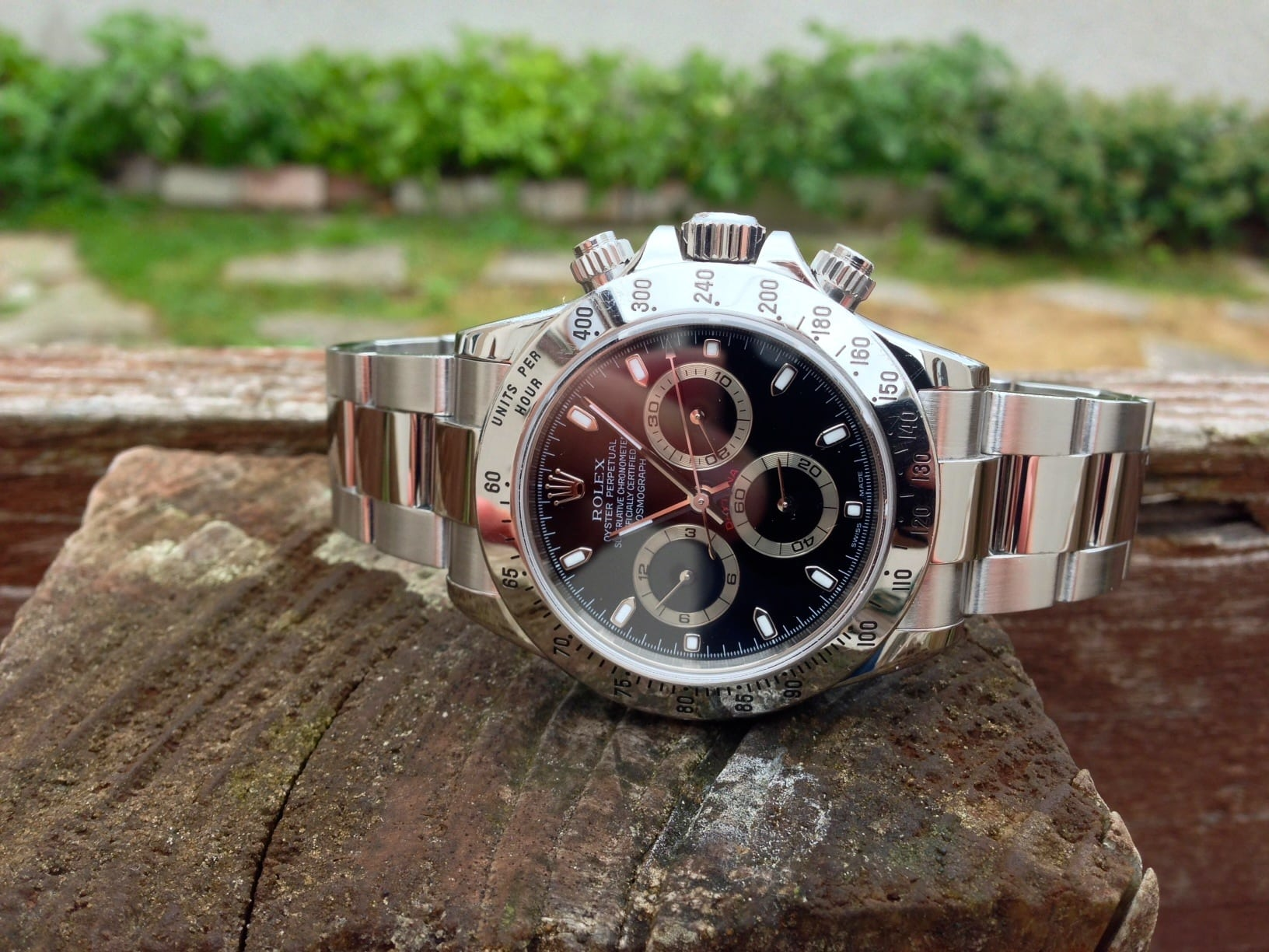 Rolex Cosmograph Daytona 116520 Early Thin Hands