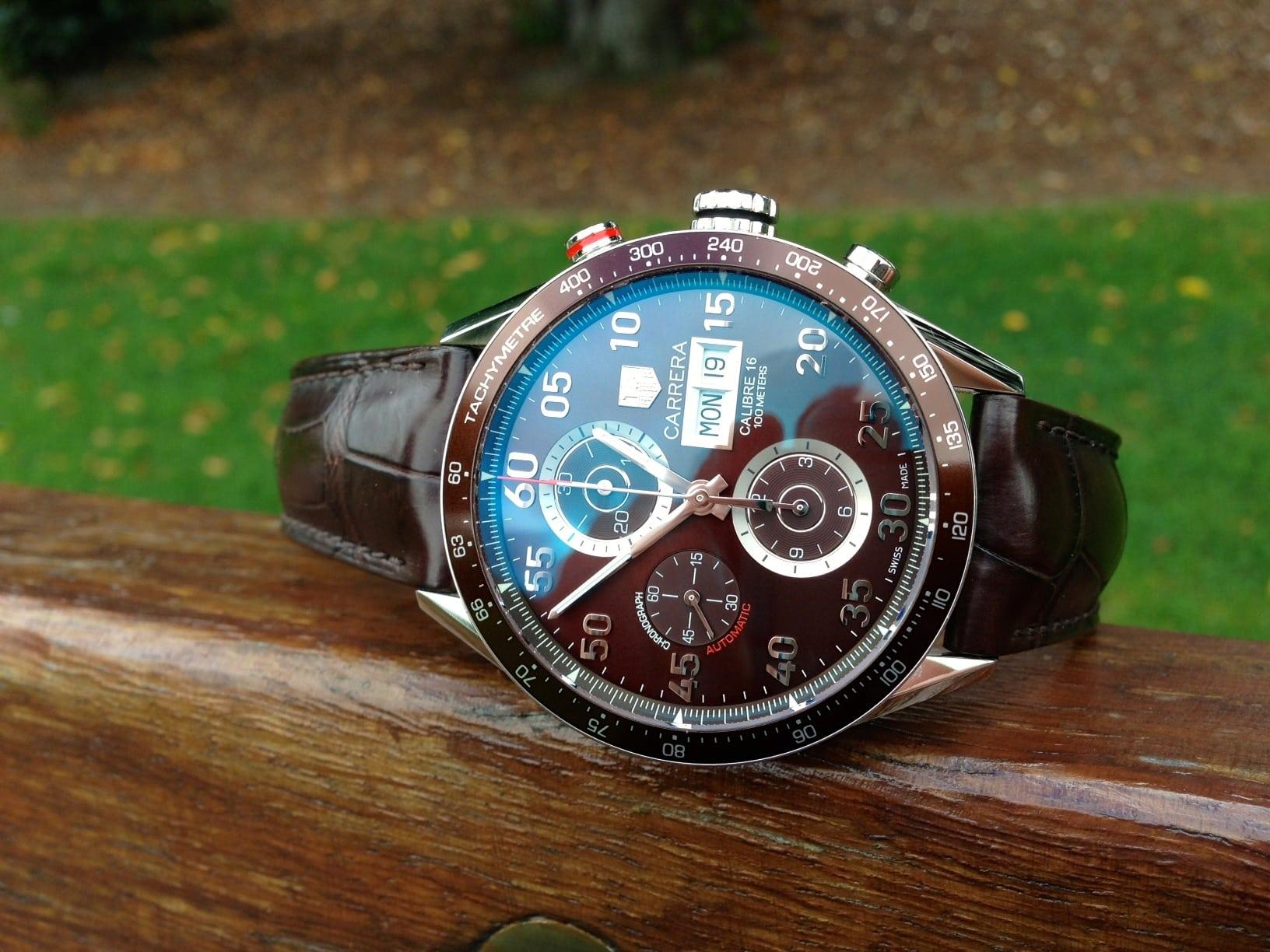Tag Heuer Carrera Chrono Day Date calibre 16 ref CV2A12
