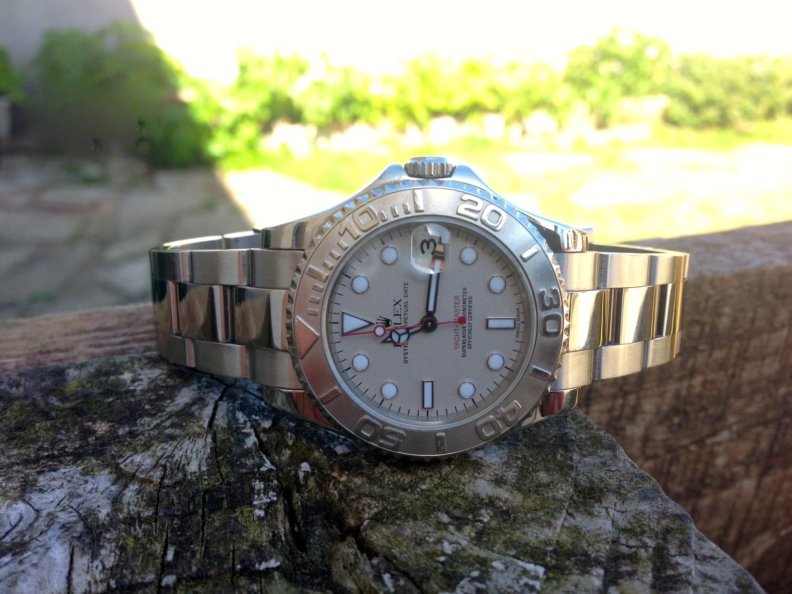 Rolex Yachtmaster 35 mm - mid size Rolex 168622