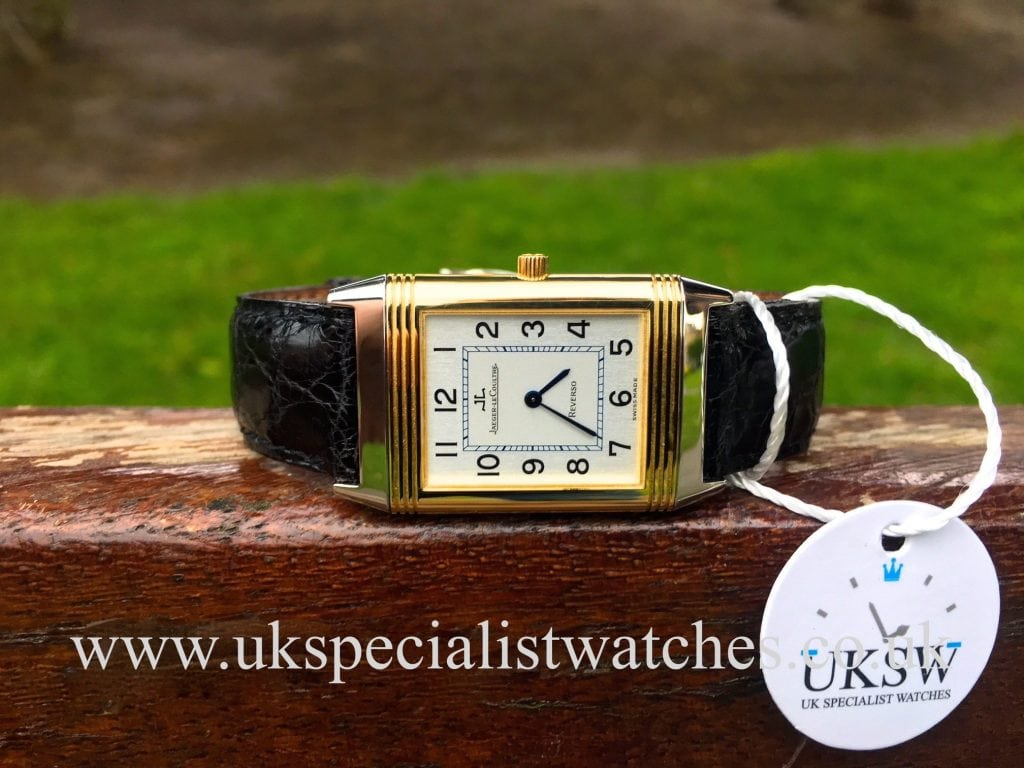 Jaeger-LeCoultre Reverso Classic – 18ct Gold & Steel – 250.5.08