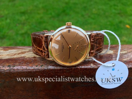 UK Specialist Watches have a Patek Philippe Calatrava 1471 – 18ct Rose Gold – Vintage 1941