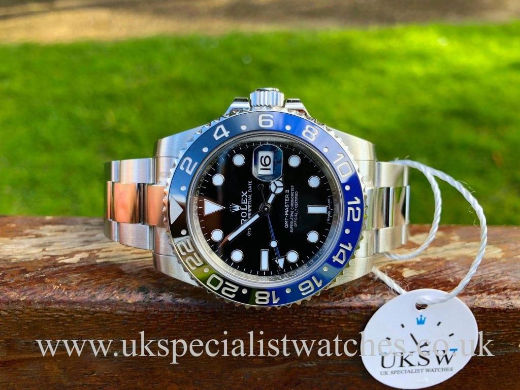 Rolex GMT-Master 116710BLNR Blue Black Batman – Bruiser – UNWORN