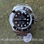 Rolex DeepSea Sea Dweller – 116660 - Black Dial