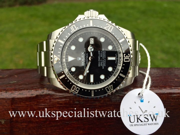 UK Specialist Watches have a Rolex DeepSea Sea Dweller – 116660 - Black Dial