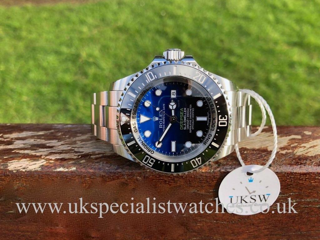 Rolex Deepsea D-Blue – James Cameron -116660 – Full Set