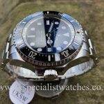 UK Specialist Watches have a Rolex Deepsea D-Blue – James Cameron -116660 – Full Set