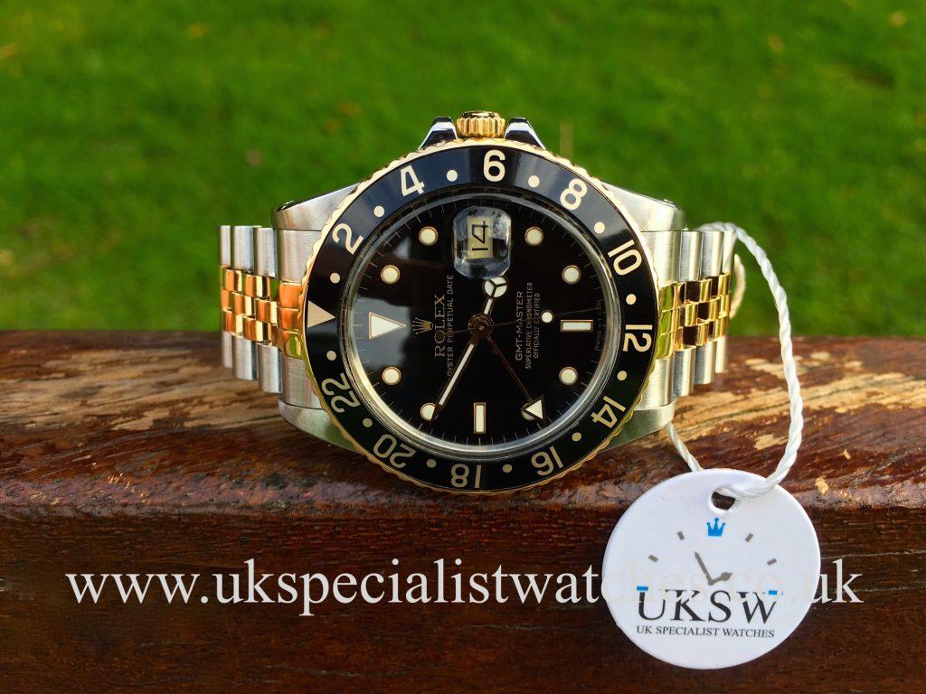 Rolex GMT Master – 16753 – Steel & Gold- Vintage 1986