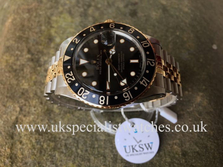 UK Specialist Watches have a rare vintage 1986 rolex gmt master 16753 for sale