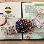 UK Specialist Watches have a Vintage 1972 Rolex GMT-Master 1675 with a pepsi bezel
