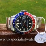 UK Specialist Watches have a vintage 1982 Rolex GMT - Master 16750 with a pepsi bezel