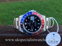 UK Specialist Watches have a Rolex GMT Master II – Pepsi – 16710T – Full Set