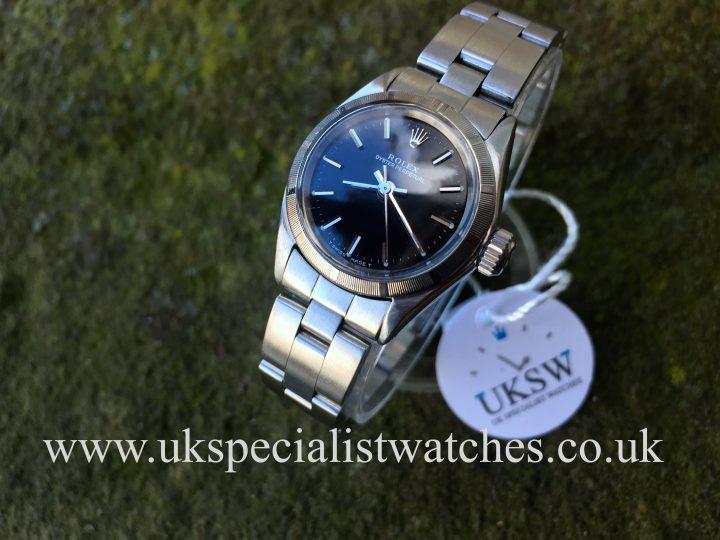 Rolex Ladies Oyster Perpetual - 24mm - 6623 - Vintage 1969
