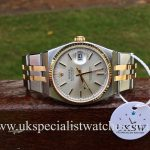 UK Specialist Watches have a full set, vintage 1990 Rolex Oyster Quartz in stainless steel & 18ct yellow gold, just returned from a full service at Rolex UK.