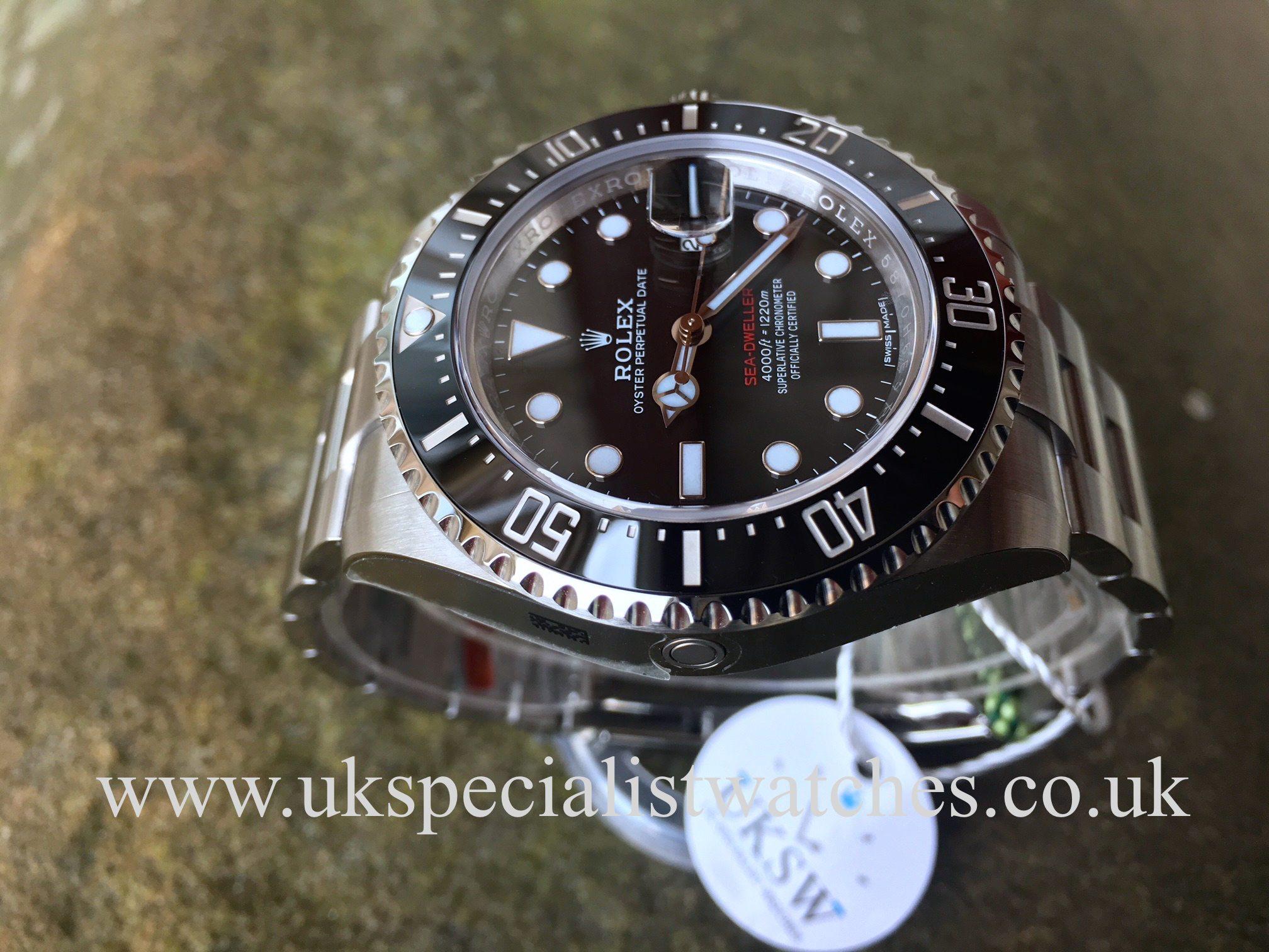 Rolex Sea Dweller 126600 Red Writing 50th Anniversary