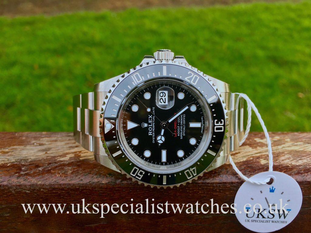 Rolex Sea-Dweller 126600 – Red Writing – 50th Anniversary