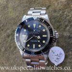 UK Specialist Watches have a vintage 1977 Rolex submariner with the extremely rare pre comex dial.