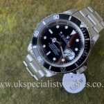 "UK Specialist Watches have a Rolex Submariner Date – Stainless Steel – 16610 ""SWISS"" Only Dial"