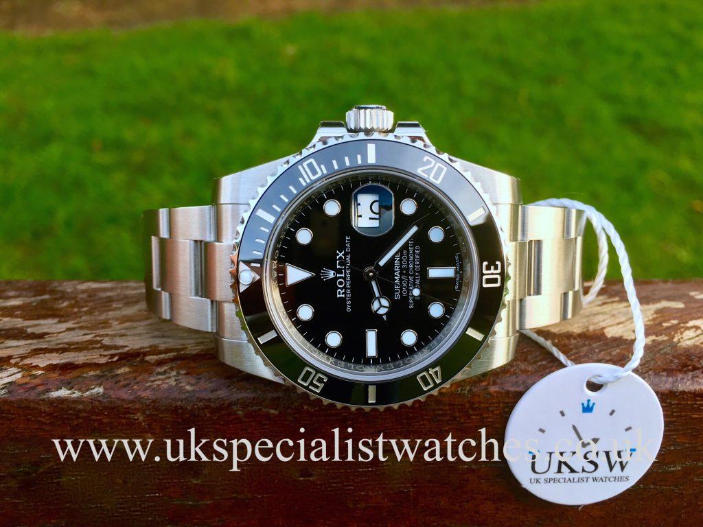 Rolex Submariner Date Ceramic Bezel – 116610LN – UNUSED