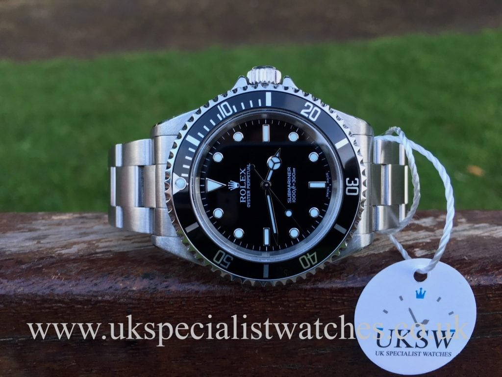Rolex Submariner Non-Date – Steel – 14060M – Full Set