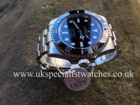 UK Specialist Watches have a Rolex Submariner Non-Date - New Model Ceramic - 114060