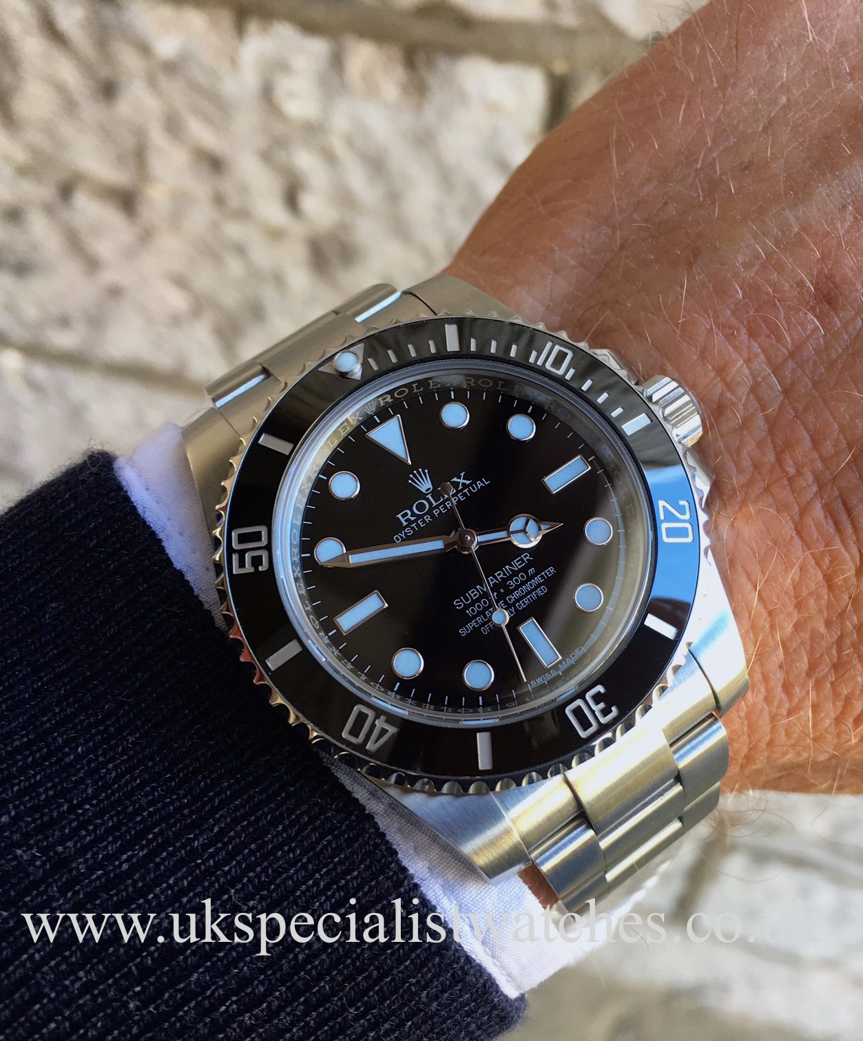 rolex submariner non date new model ceramic 114060 uk specialist watches. Black Bedroom Furniture Sets. Home Design Ideas