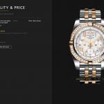 Breitling Chronomat 44mm - Steel & 18ct Rose Gold - Diamond Set