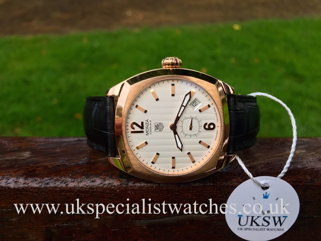 Tag Heuer Monza WR5140 – 18ct Rose Gold – Limited Edition
