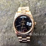 UK Specialist Watches have a stunning Rolex Day Date President Gents in 18ct Gold model ref 18238