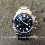 UK Specialist Watches have aBlancpain Flyback Chronograph Leman with box and papers