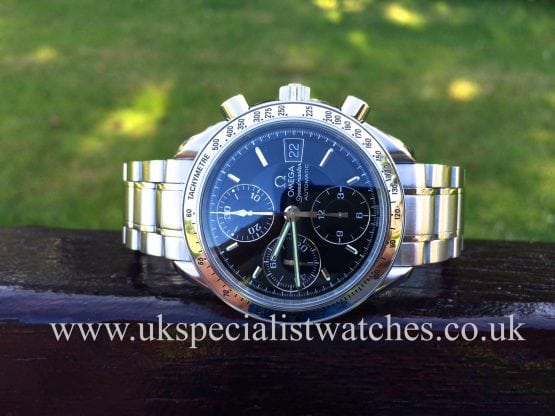 UK Specialist watches have a rare Omega Speedmaster Chronograph Automatic sports watch